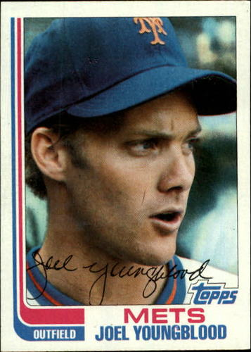 Photo of 1982 Topps #655 Joel Youngblood