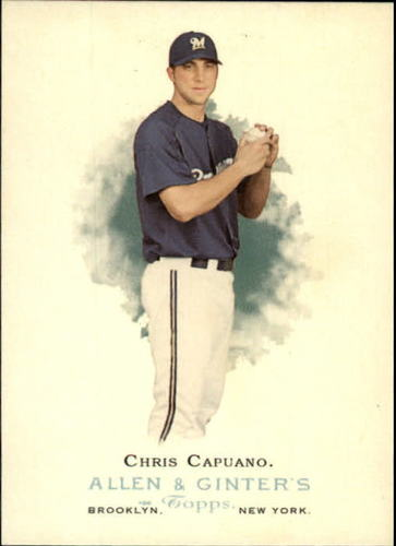 Photo of 2006 Topps Allen and Ginter #166 Chris Capuano