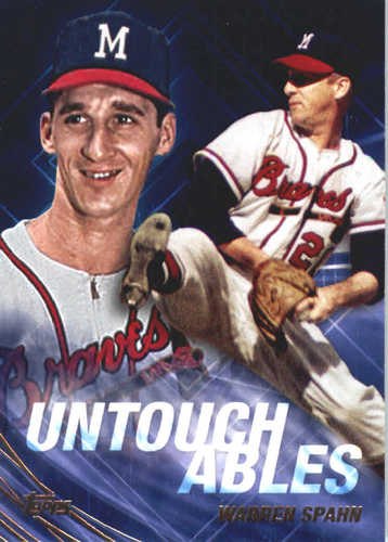 Photo of 2017 Topps Update Untouchables #U3 Warren Spahn