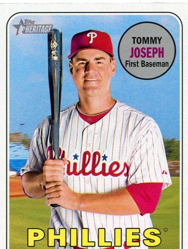 Photo of 2018 Topps Heritage #34 Tommy Joseph