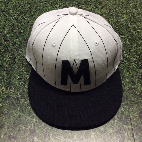 Photo of Manny Pina 2018 Milwaukee Bears Game-Used Cap