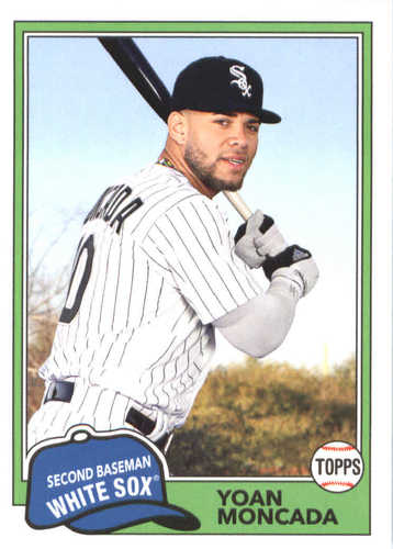 Photo of 2018 Topps Archives #203 Yoan Moncada