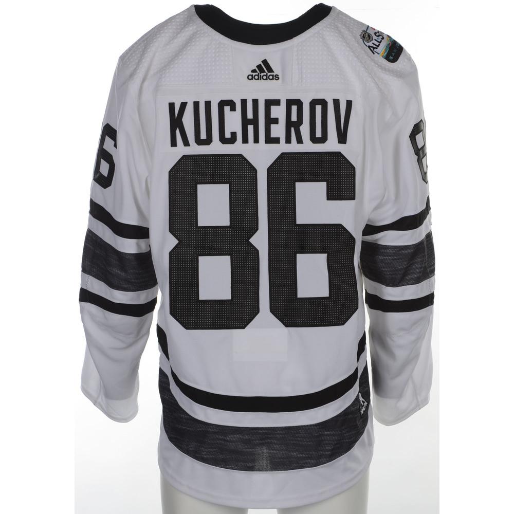 newest 2664d 016e7 Nikita Kucherov Tampa Bay Lightning Player-Issued 2019 All ...