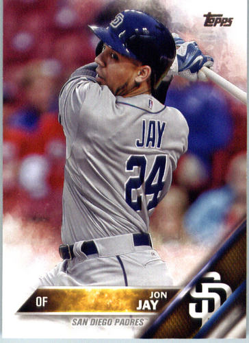 Photo of 2016 Topps #385 Jon Jay