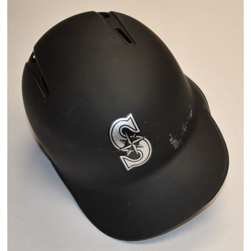 "Photo of Domingo ""SALOMON"" Santana Seattle Mariners Team-Issued 2019 Players' Weekend Helmet"