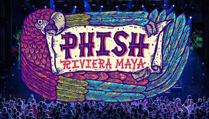 PHISH: RIVIERA MAYA IN CANCÚN + TWO BEDROOM PRESIDENTIAL SUITE