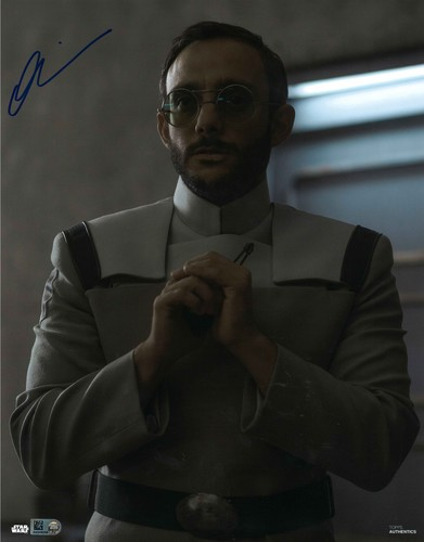 Omid Abtahi As Dr. Pershing 11X14 AUTOGRAPHED IN 'Blue' INK PHOTO