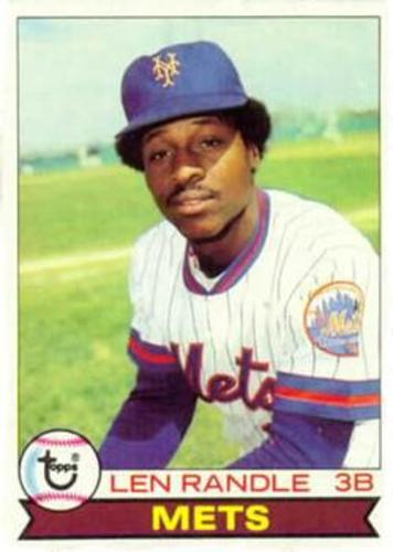 Photo of 1979 Topps #454 Len Randle