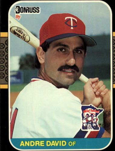 Photo of 1987 Donruss #519 Andre David