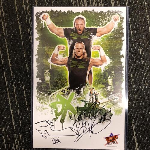 Photo of Shawn Michaels & Triple H SIGNED D-Generation X 11x18 Photo Print