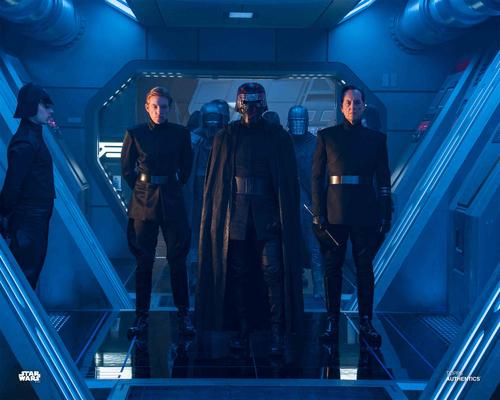 Kylo Ren, General Hux and Allegiant General Pryde