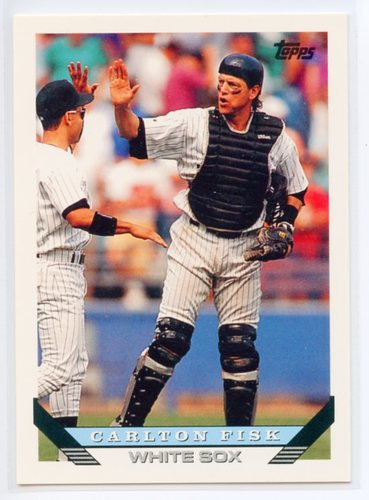 Photo of 1993 Topps Pre-Production #230 Carlton Fisk