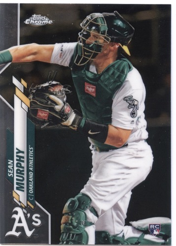 Photo of 2020 Topps Chrome #32 Sean Murphy RC