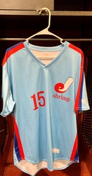 Photo of Jacksonville Expos Fauxback Jersey #15 Size 46