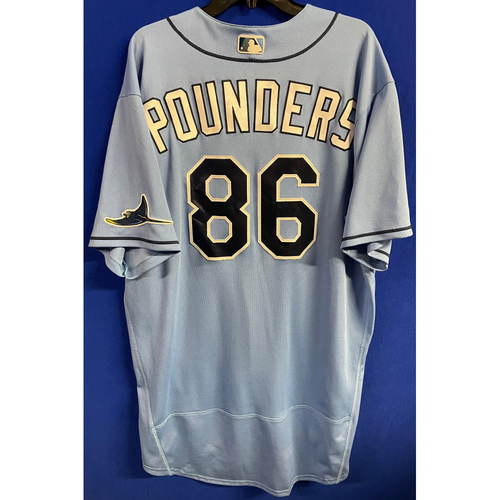 Photo of Game Used 2020 Spring Training Jersey: Brooks Pounders - 2 Games - February 24 v BOS & March 4 v TOR