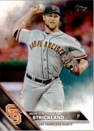 Photo of 2016 Topps #196 Hunter Strickland