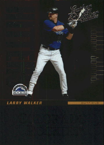 Photo of 2005 Leather and Lumber Hitters Inc. #12 Larry Walker