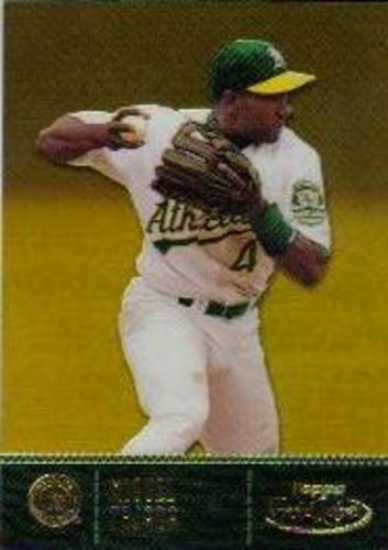 Photo of 2001 Topps Gold Label Class 1 Gold #74 Miguel Tejada