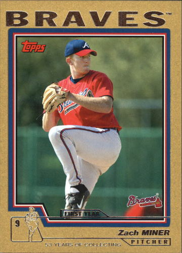 Photo of 2004 Topps Gold #326 Zach Miner FY