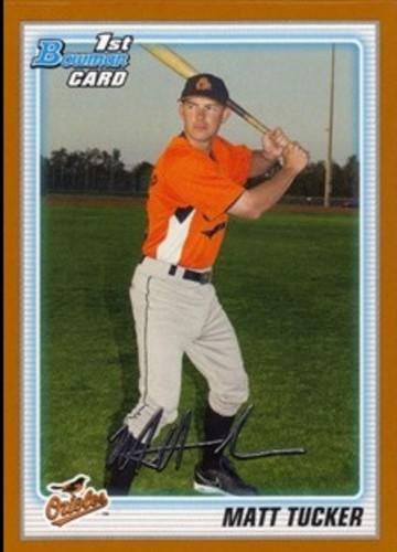 Photo of 2010 Bowman Prospects Orange #BP72 Matt Tucker