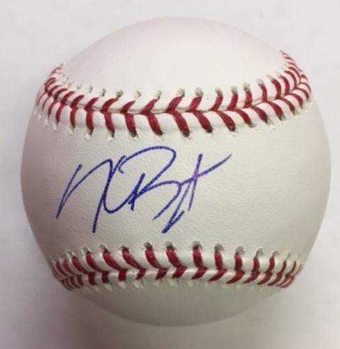 Photo of Kris Bryant Autographed Baseball
