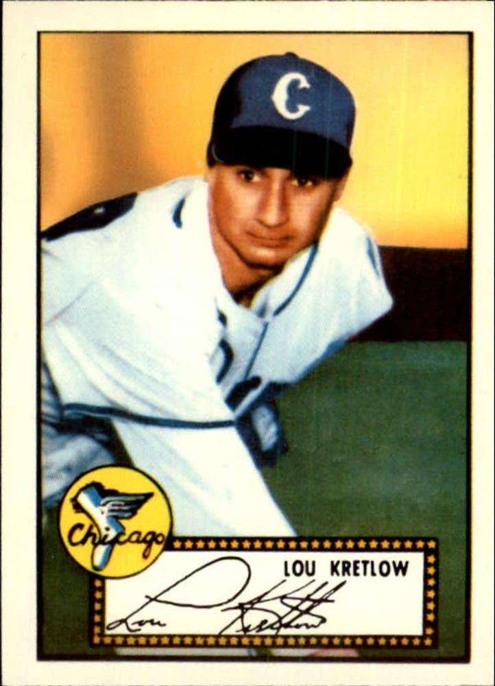 1983 Topps 1952 Reprint #42 Lou Kretlow