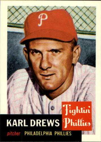 Photo of 1991 Topps Archives 1953 #59 Karl Drews