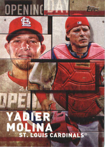 Photo of 2018 Topps Opening Day Insert #OD10 Yadier Molina