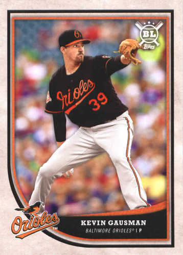 Photo of 2018 Topps Big League #267 Kevin Gausman