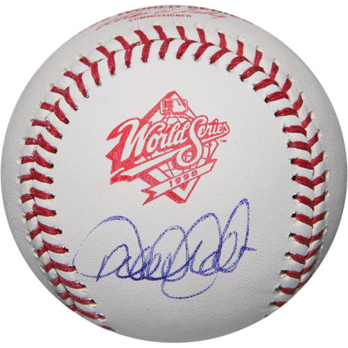 Photo of Derek Jeter Autographed 1998 World Series Logo Baseball