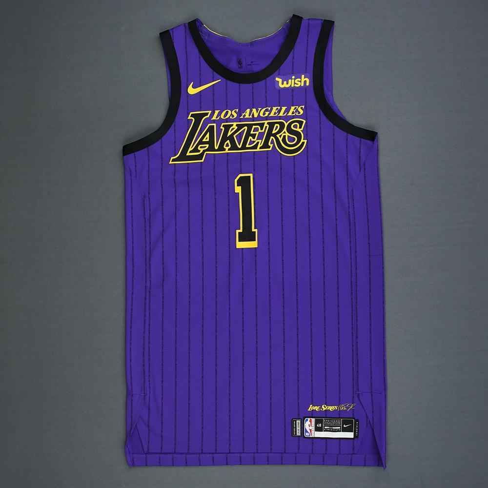 Kentavious Caldwell-Pope - Los Angeles Lakers - Game-Worn City ...