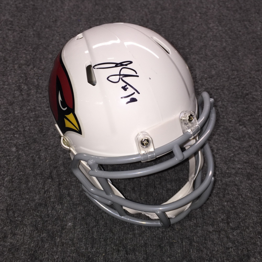 Cardinals - John Skelton Signed Mini Helmet