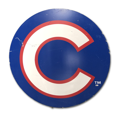Photo of Wrigley Field Collection -- Concourse Sign - 'Cubs C'