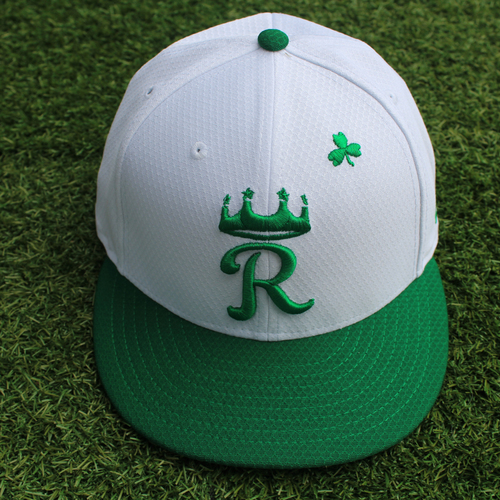 Photo of Team-Issued St. Patrick's Day Cap: Foster Griffin (Size 7 1/2)