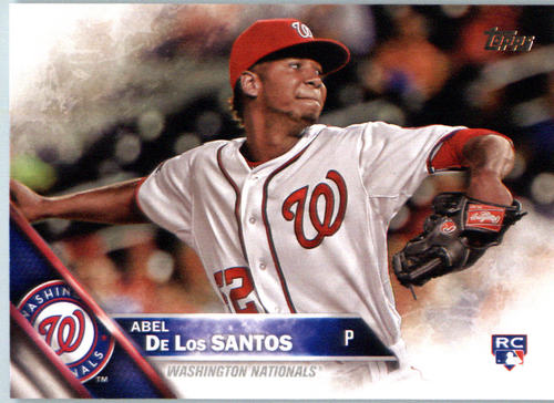 Photo of 2016 Topps #394 Abel De Los Santos RC