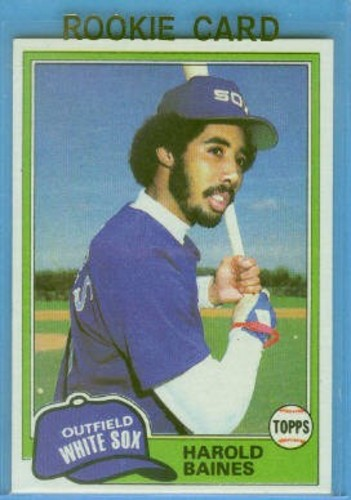 Photo of 1981 Topps #347 Harold Baines RC