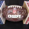 Chiefs - 2016 Team Signed Composite Leather Ball over 40 Signatures Including Alex Sith, Justin Houston, Travis Kelce, Derrick Johnson, Eric Berry, Dontare Poe, Nick Foles, Dee Ford, Jeremy Maclin