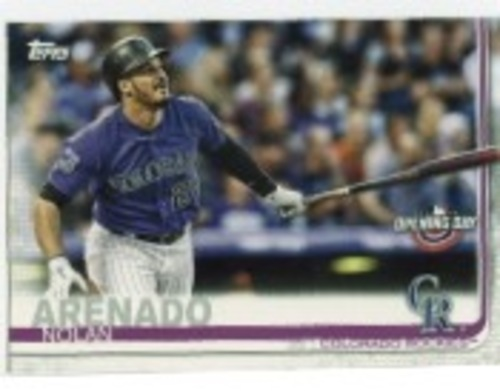 Photo of 2019 Topps Opening Day #31 Nolan Arenado