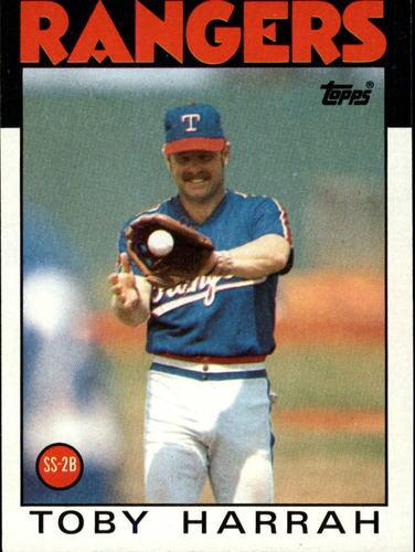 Photo of 1986 Topps #535 Toby Harrah