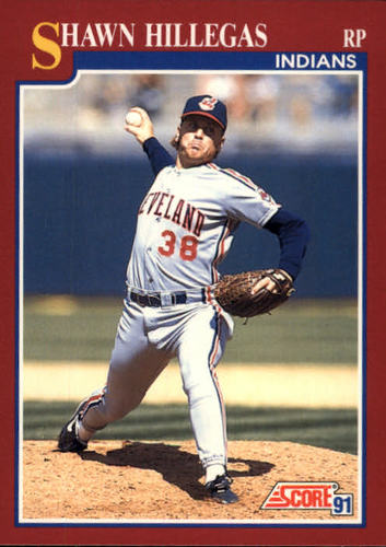Photo of 1991 Score Rookie/Traded #65T Shawn Hillegas