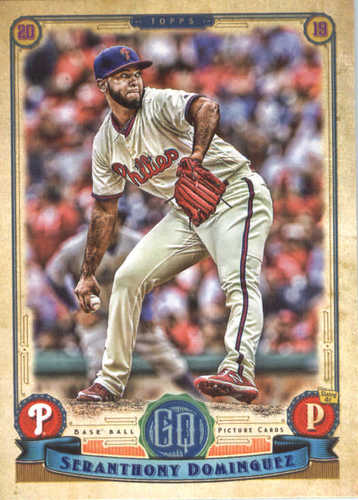 Photo of 2019 Topps Gypsy Queen #96 Seranthony Dominguez