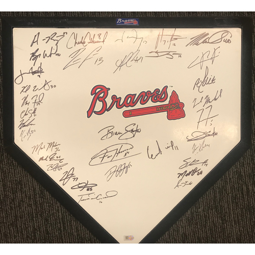 Photo of 2020 Team MLB Authenticated Autographed Home Plate