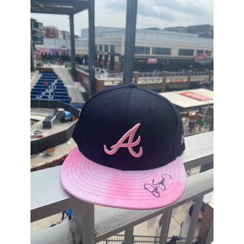 Photo of Drew Smyly Autographed MLB New Era Pink Cap