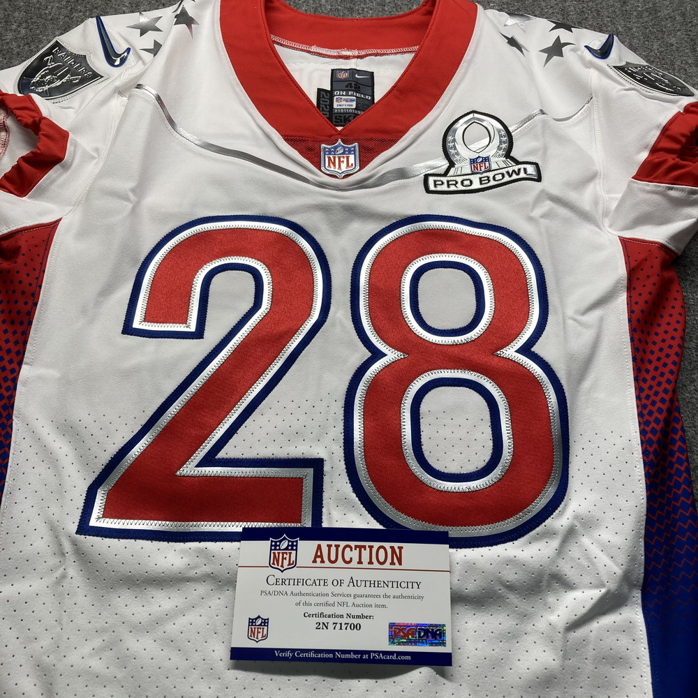 NFL - Raiders Josh Jacobs Special Issued 2021 Pro Bowl Jersey Size 42