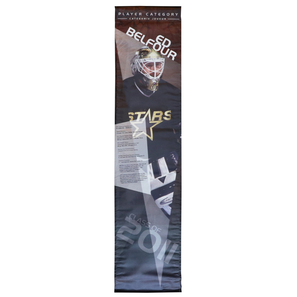 Ed Belfour Hockey Hall of Fame Class of 2011 Showcase Banner