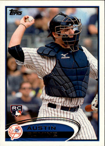 Photo of 2012 Topps #79 Austin Romine RC