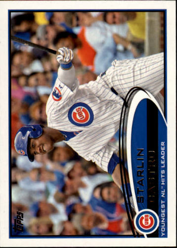 Photo of 2012 Topps #167 Starlin Castro RB