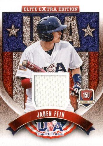 Photo of 2015 Elite Extra Edition USA Baseball 15U Jerseys #12 Jaden Fein