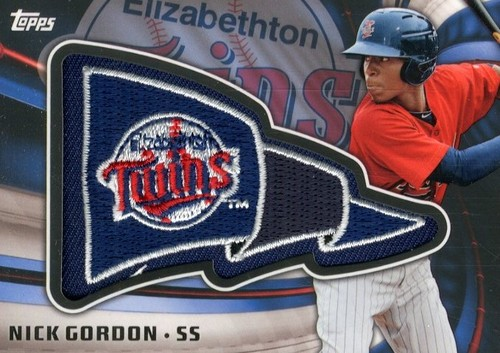Photo of 2015 Topps Pro Debut Pennant Patches #PPNG Nick Gordon