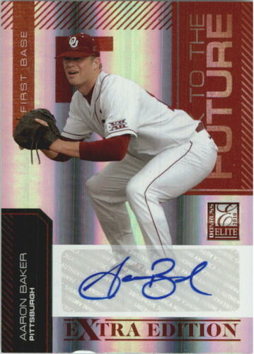 Photo of 2010 Donruss Elite Extra Edition Back to the Future Signatures #7 Aaron Baker/235